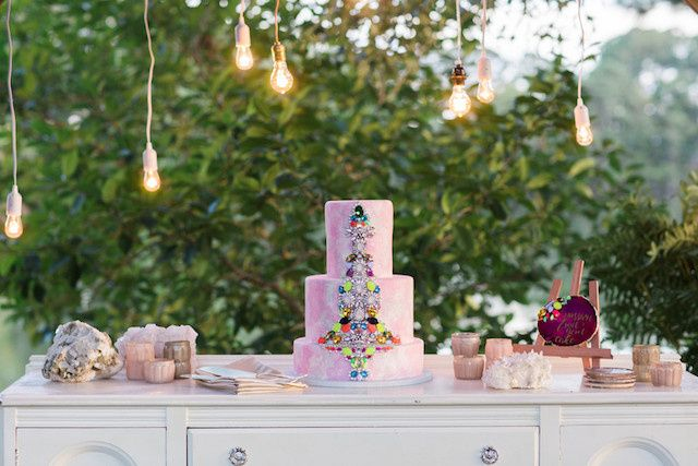Tmx 1473256789596 Colorful Gemstone Wedding 8 Virginia Beach wedding cake