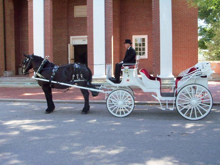 Tmx 1363373552751 Maraweddingcarriage Indianapolis wedding transportation