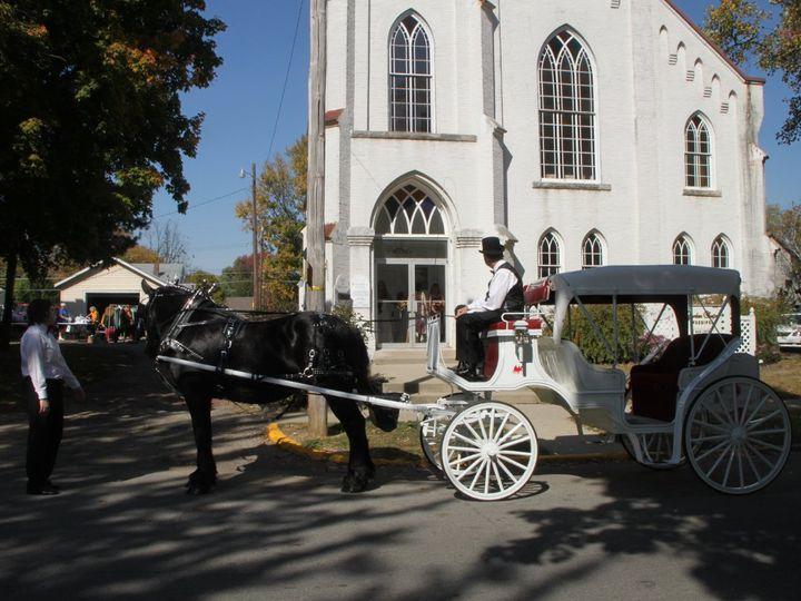 Tmx 1363373672155 WeddingcarriageGardenChapel Indianapolis wedding transportation