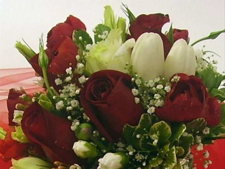 Tmx 1278516067614 RedWhiteBridalbouquet Yerington wedding florist