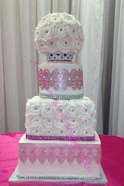 Tmx 1491444437175 Jcakeballimg1964fb Red Oak wedding cake