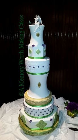 Tmx 1491444649527 Celtic4x6fb Red Oak wedding cake