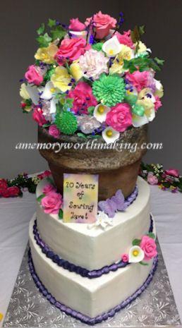 Tmx 1491446109174 70yrlove Fb Red Oak wedding cake
