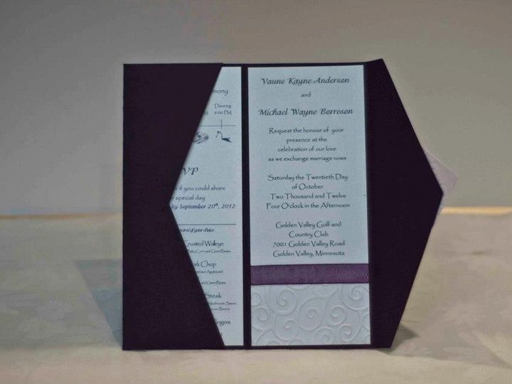 Tmx 1424715416231 A 10 Invite Osseo wedding invitation