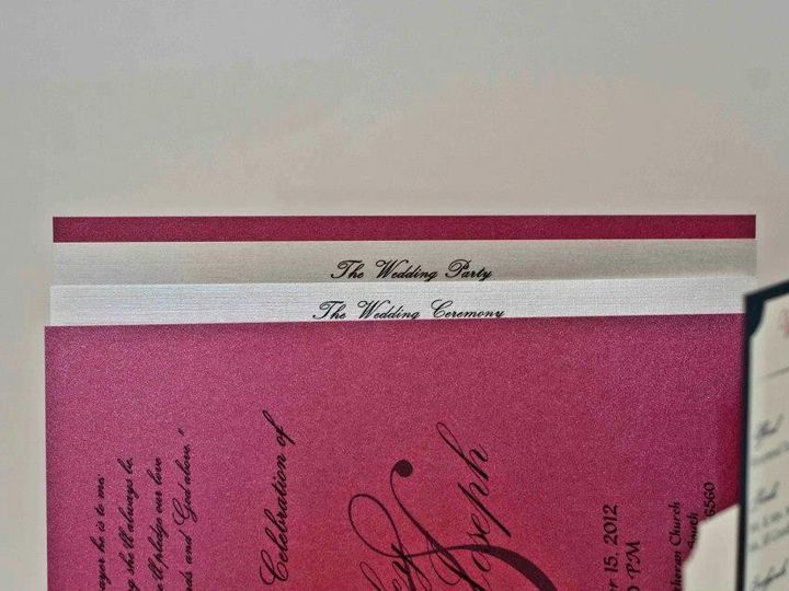 Tmx 1424715429149 Booklet Program Osseo wedding invitation