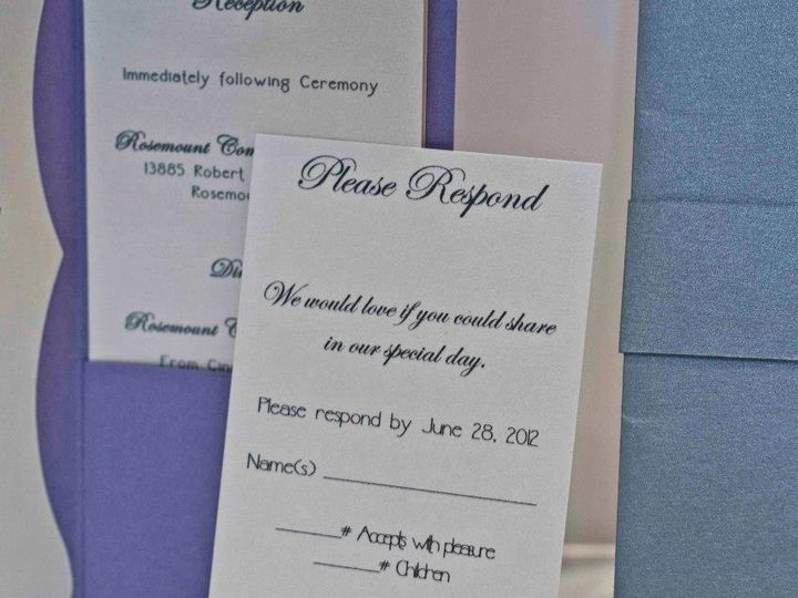 Tmx 1424715447412 Close Up Osseo wedding invitation