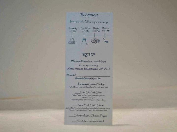 Tmx 1424715460777 Insert Combo Rsvp With Perforations Osseo wedding invitation
