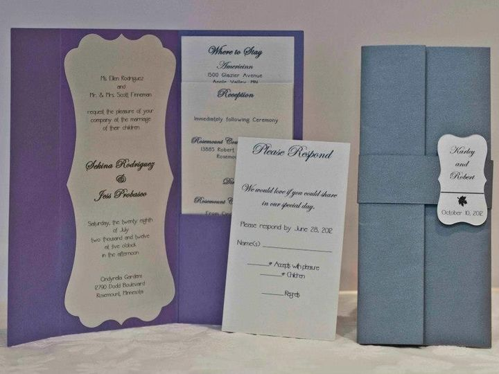 Tmx 1425069763567 A 10 Invite Folder Osseo wedding invitation