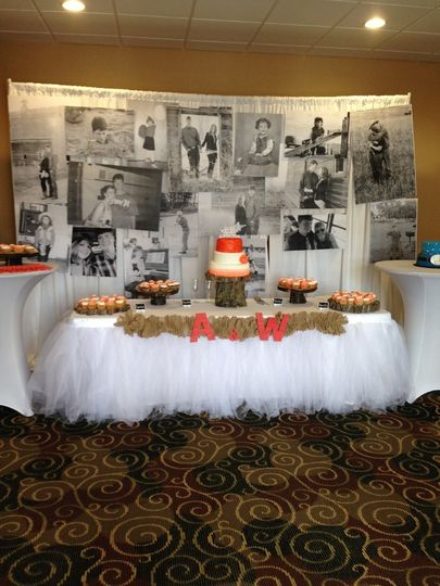 Cake Table Picture Backdrop