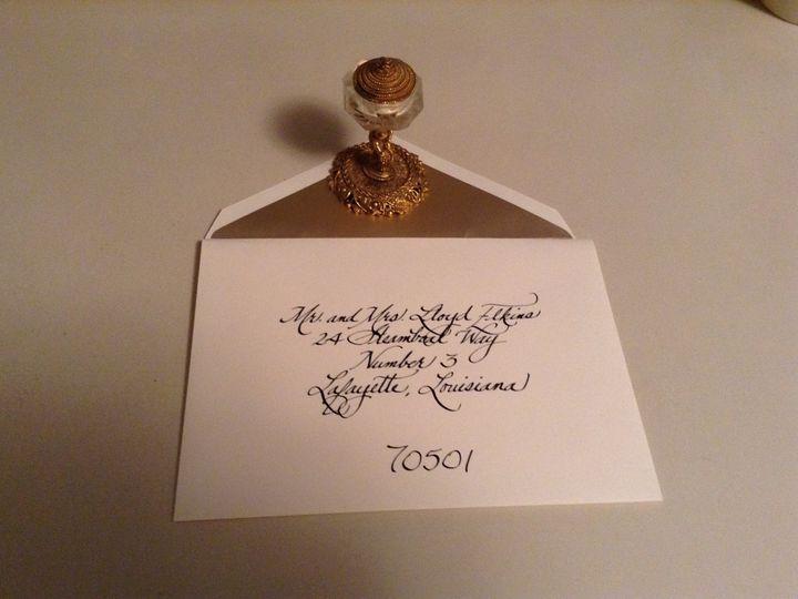 Tmx 1435251809751 Image2 Lafayette, Louisiana wedding invitation