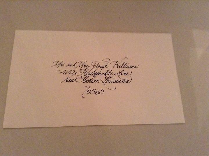 Tmx 1435251850785 Image4 Lafayette, Louisiana wedding invitation