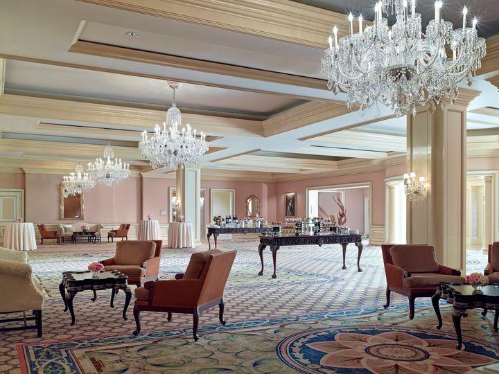 Tmx 1416621058477 2014 Huntington Ballroom Foyer Pasadena, CA wedding venue
