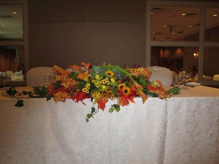 Tmx 1349096485398 Headtablearrangement Pitman, NJ wedding florist
