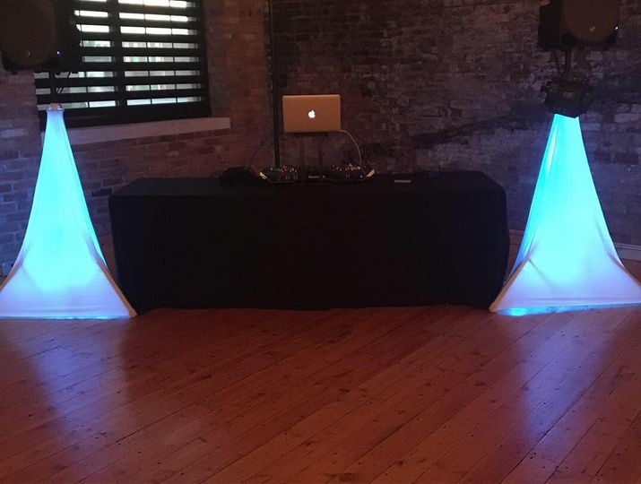Glow stands