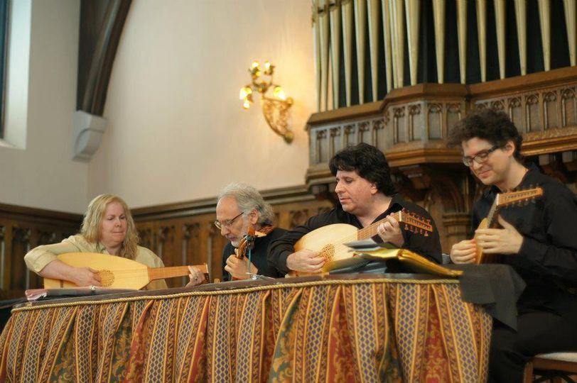 Lute Society Performance, Matthew Weinman on Tenor Lute