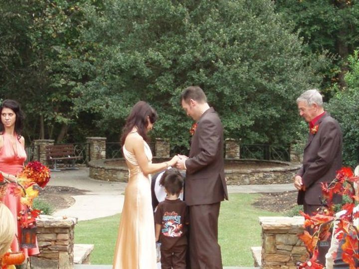 Tmx 1257046696524 KristinaadamweddingAndersonPtPkkayelily1009090006 Raleigh, NC wedding officiant