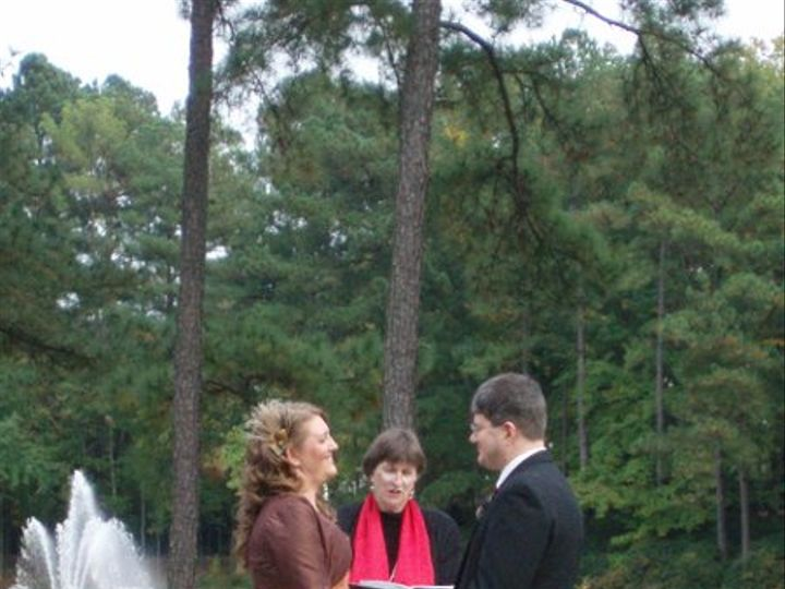 Tmx 1257047025633 Lisajasonweddingtheumsteadkayelily1025090008 Raleigh, NC wedding officiant
