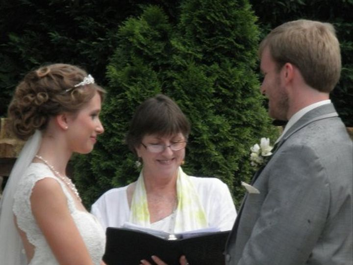 Tmx 1276472121146 KatieGregWeddingSutherlandKayelily061210 Raleigh, NC wedding officiant