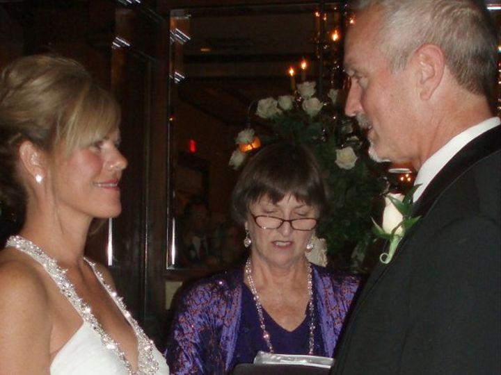 Tmx 1276472127693 Nancysteveweddingmaggianoskayelily1114090009 Raleigh, NC wedding officiant