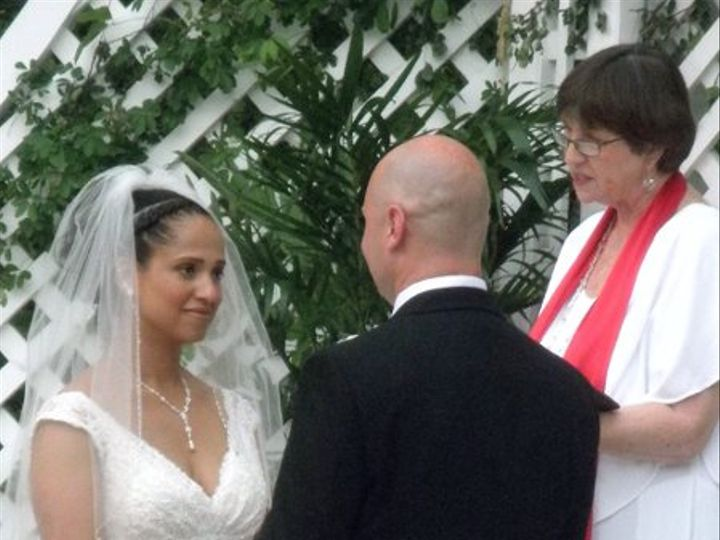 Tmx 1276485685578 AngelaCoreyWeddingCrenshawHallKayelily0514100037 Raleigh, NC wedding officiant