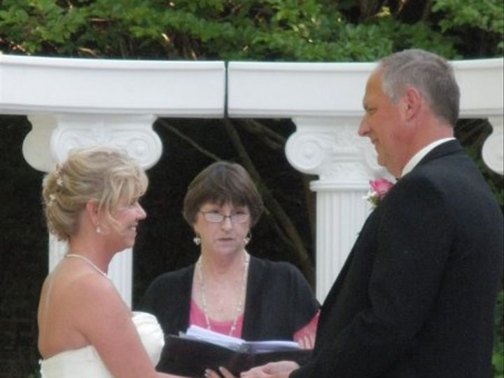 Tmx 1276486359786 DawnBobWeddingSistersGardenKayelily0430100012 Raleigh, NC wedding officiant