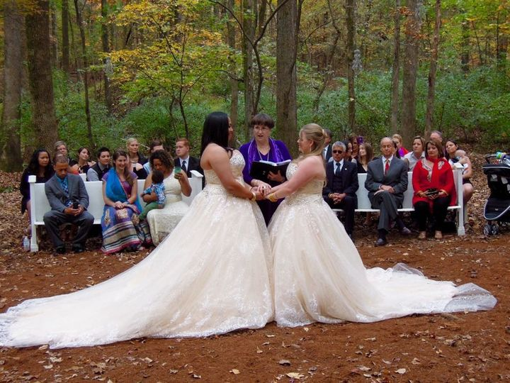 Tmx 1448031284336 Tenita And Christina Pronouncement Raleigh, NC wedding officiant