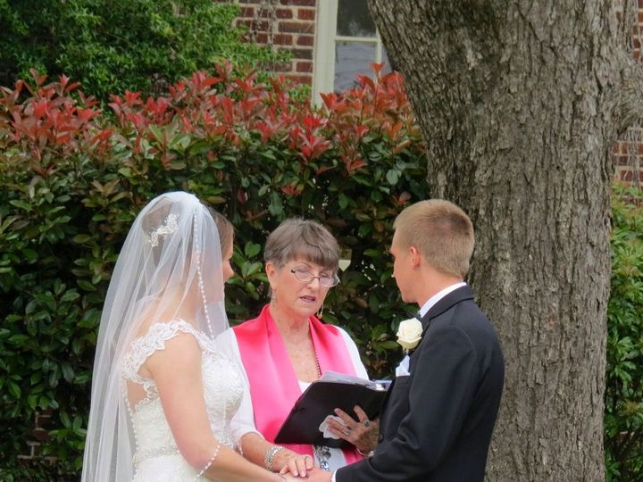 Tmx 1525532476 0072b13d4b736083 1525532475 6fc35dfff93843f1 1525532465719 7 Lindsay And Kyle 4 Raleigh, NC wedding officiant