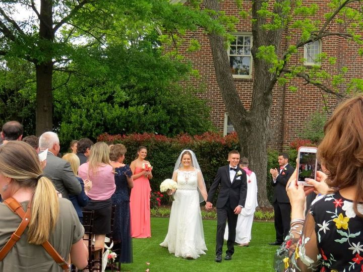Tmx 1525532477 0a2edc3ddd124e16 1525532475 65d71a610ad05dee 1525532465719 8 Lindsay And Kyle 4 Raleigh, NC wedding officiant