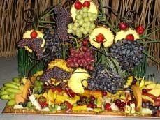 array of fruits