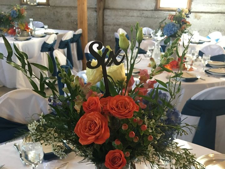 Tmx Wood Table Number In Galvanized Milk Can 51 1022739 157955441881111 Petoskey, MI wedding rental