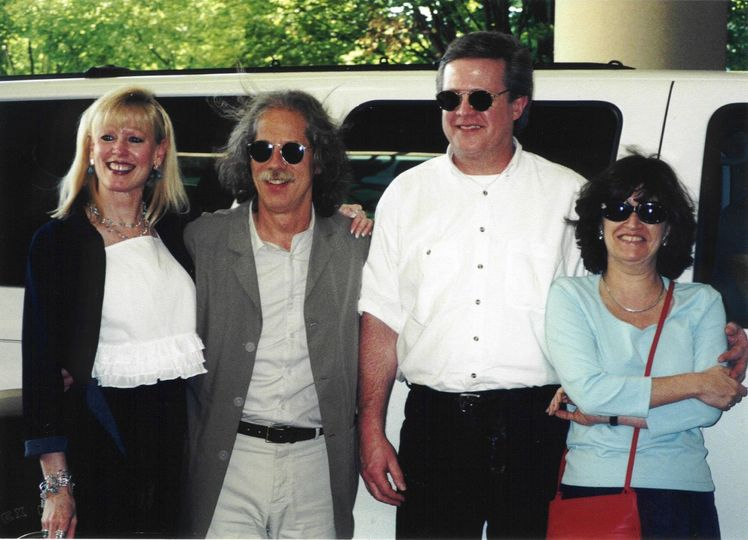 before a James Taylor concert in Nashville - Left to Right: Claudia Reach, Lou Marini, Ray Reach and...