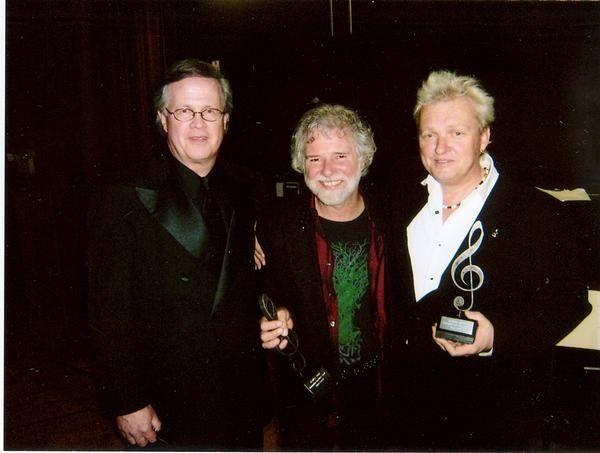At the 2008 BAMA Awards (Birmingham Area Music Awards) - Left to Right:  Ray Reach, Chuck Leavell...