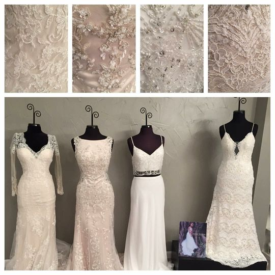 Say hello to 4 of our Brand New Maggie Sottero Gowns!! These four beauties are just waiting for...