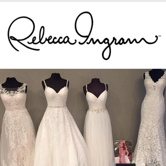 Our newest bridal line (Rebecca Ingram by Maggie Sottero Designs) has started to arrive! Our first...