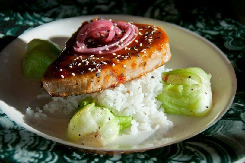 Main fish dish