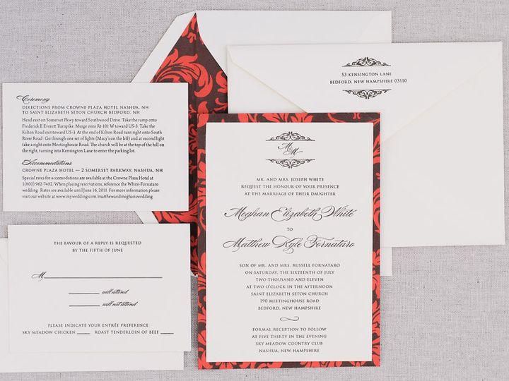 Tmx 1427989637443 Callidora 1100 Portfolio Mm 4 Topsfield wedding invitation