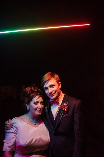 wabasha street caves st paul wedding pixelstick