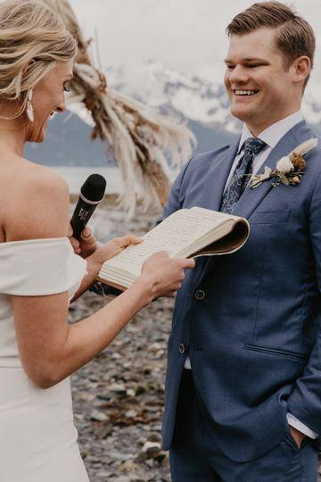 Hand-written vows