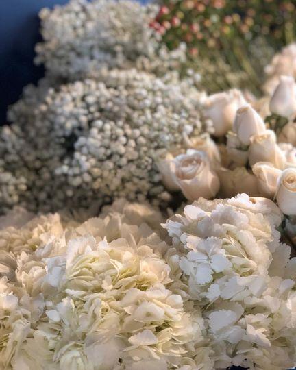 Blush and ivory wedding