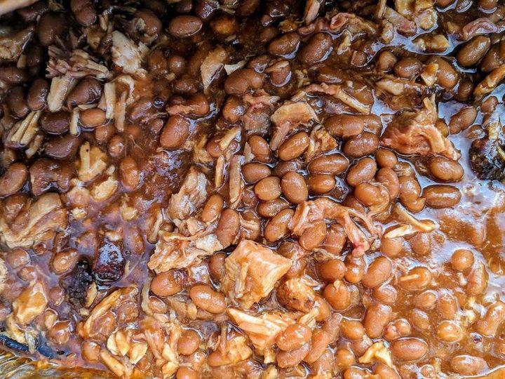 Beans baking