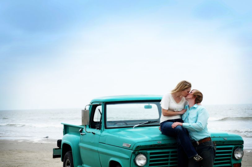 Engagement Photo shoot on the Beach.
