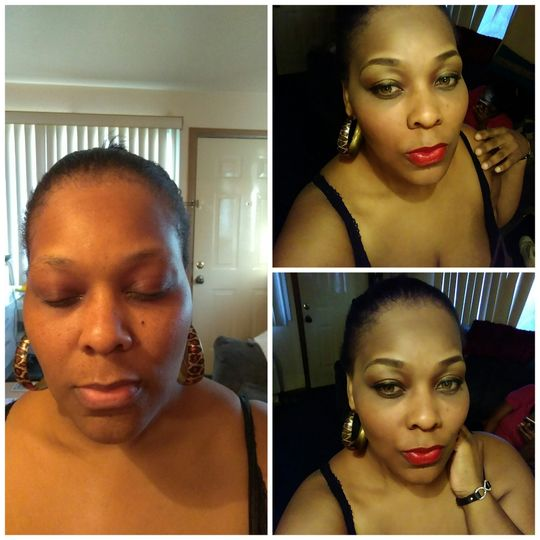 Wedding Reception Makeup
