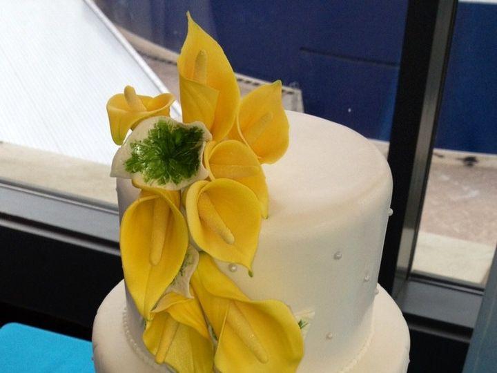 Tmx 1389278714319 Calla Alpharetta, Georgia wedding cake