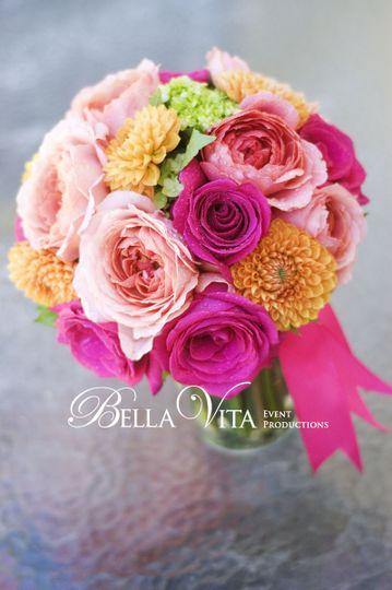 Bella vita event productions flowers windsor ca weddingwire 800x800 1389488146229 pink lemonade bridal bouquet mightylinksfo