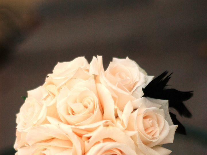 Tmx 1389488180696 Bridesmaids Bouquet With Feathers Windsor wedding florist