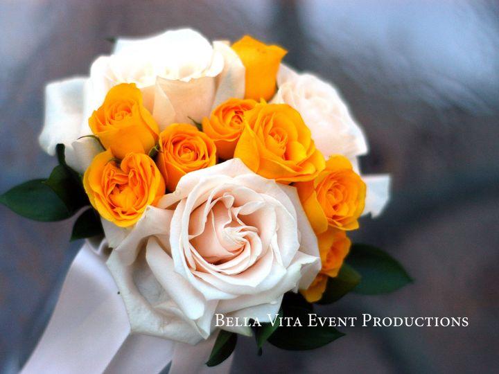 Tmx 1389488195608 Bridesmaids Bouquet With Yellow Spray Roses Windsor wedding florist