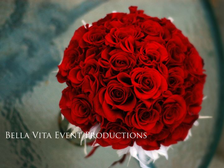 Tmx 1389488252544 Red Rose Bouquet With White Flowers Windsor wedding florist