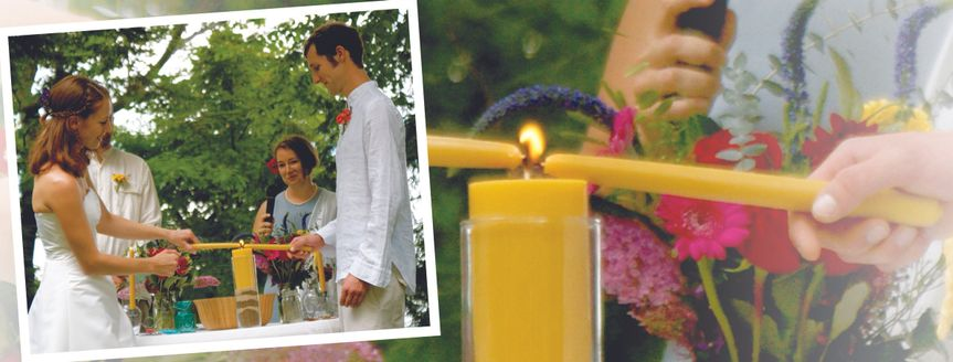 Honor Traditions Lighting a flame universally symbolizes creation, new beginnings and rekindling of...