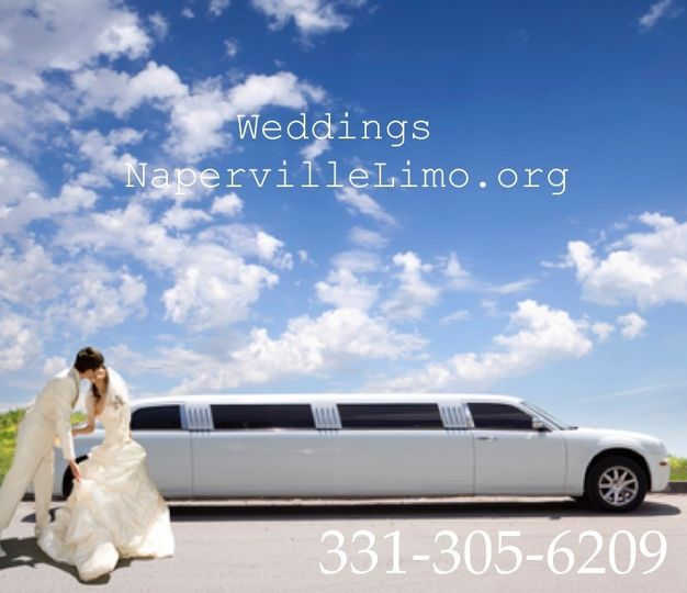 naperville chicago area limousine rental wedding