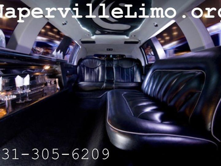 Tmx 1428959851136 Naperville Limousine Service Interior Contact Naperville, IL wedding transportation